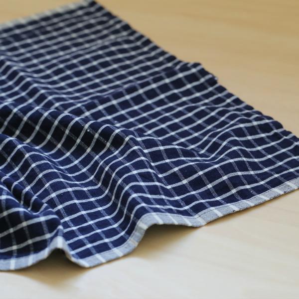 ferm LIVING (ファームリビング) Hale Tea Towels(ヘイル ティータオル) ブルー/オフホワイト 北欧/キッチンタオル/日本正規代理店品