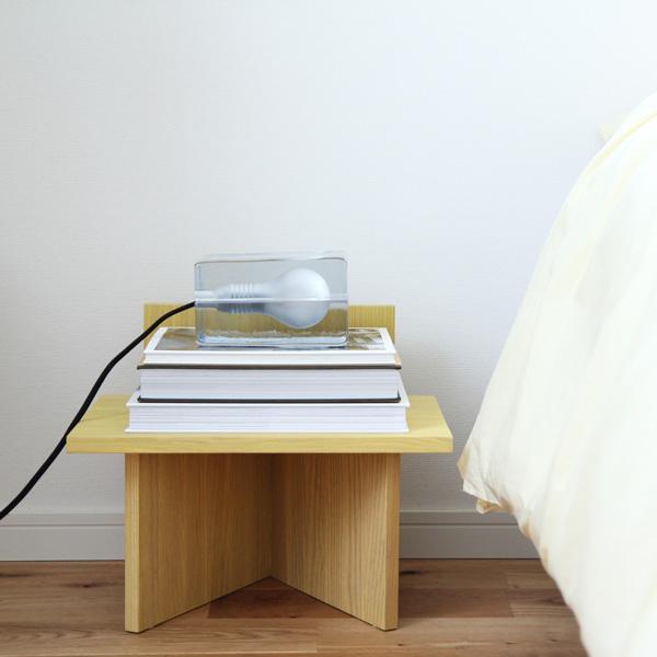 【受注発注】ferm LIVING (ファームリビング) Oblique(オブリーク) オーク/イエロー/ブラック 北欧/インテリア/日本正規代理店品【大型送料】