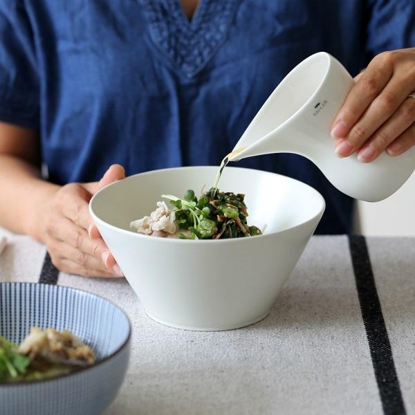 小田陶器<br>TOH/Re50 麺鉢(Φ185mm×H89mm) クリーム<br>和洋食器/食器/皿