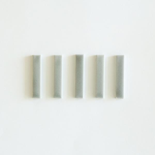 kura common (クラ コモン) Kobi (コビ) 箸置き/5本セット クールグレー/マット レスト 【メール便】