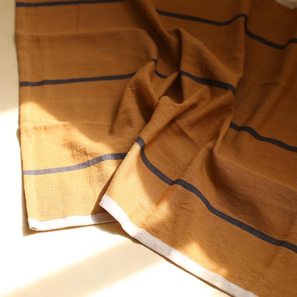 ferm LIVING (ファームリビング) Hale Tea Towels(ヘイル ティータオル) マスタード/ネイビー 北欧/キッチンタオル/日本正規代理店品