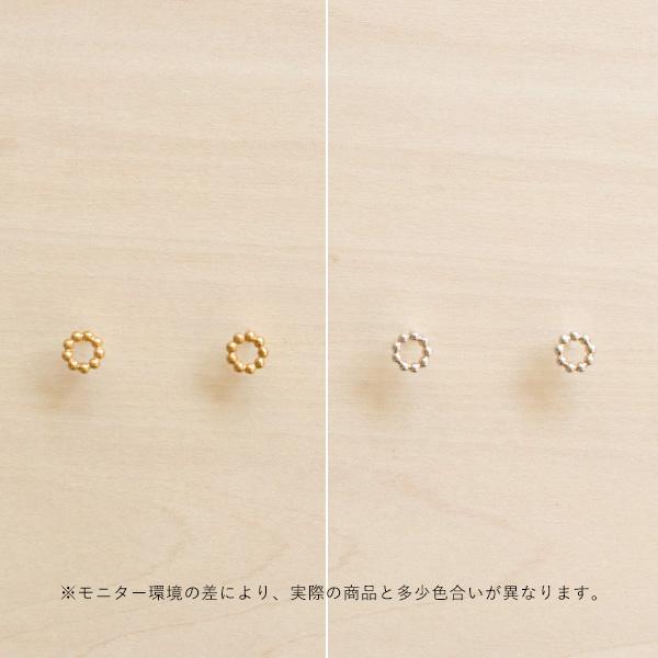 Enamel (エナメル) ピアス オーダ ゴールド/シルバー 【メール便】
