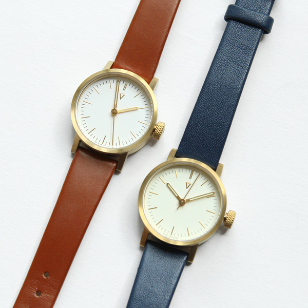 【受注発注】VOID WATCHES (ヴォイド) 腕時計 V03P ロイヤルブルー/ライトブラウン/ブラック/オリーブ 北欧/スウェーデン【送料無料】