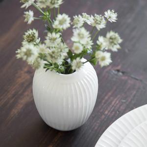 Kahler (ケーラー) ハンマースホイ フラワーベース ミニ ホワイト 日本正規代理店品