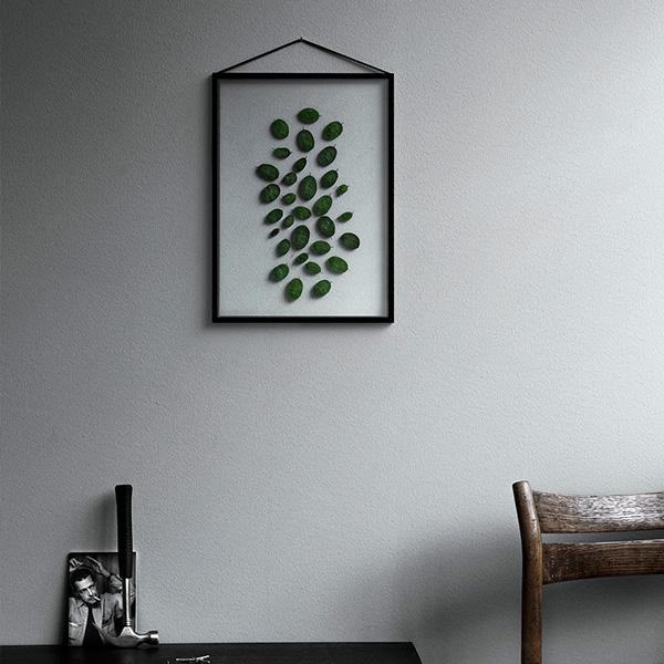 MOEBE (ムーベ) FRAME フレーム A4 ブラック アクリル板/ポスター/額縁/壁掛け