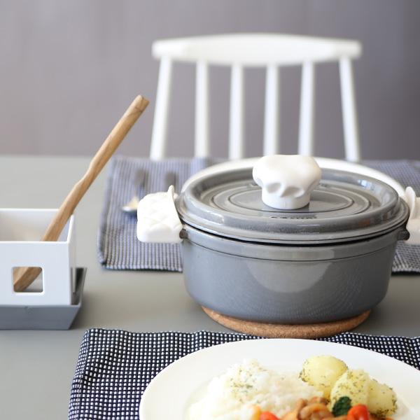 APYUI(アピュイ) キッチンミトン/鍋つかみ ホワイト