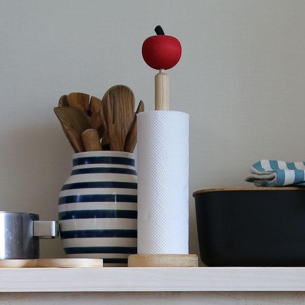 セバスチャン・デザイン(Sebastian design)ロールペーパーホルダー デンマークのキッチンペーパーホルダー 木製 セバスチャンデザイン キッチン雑貨 北欧雑貨