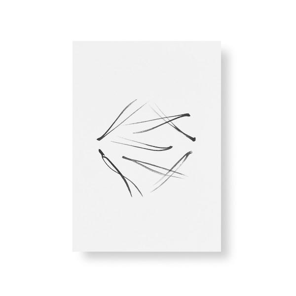 Teemu Jarvi (テーム・ヤルヴィ) ポスター A5 PINE NEEDLES (松葉) 北欧/インテリア【メール便】