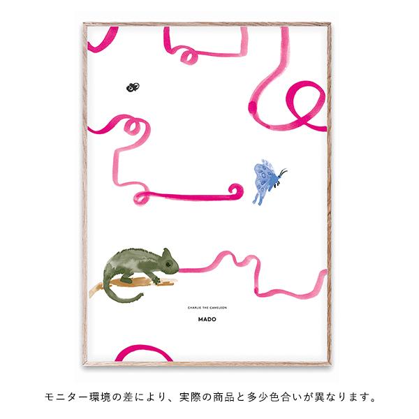 【受注発注】 MADO (マド) ポスター 50×70cm Friends Charlie The Chameleon【送料無料】