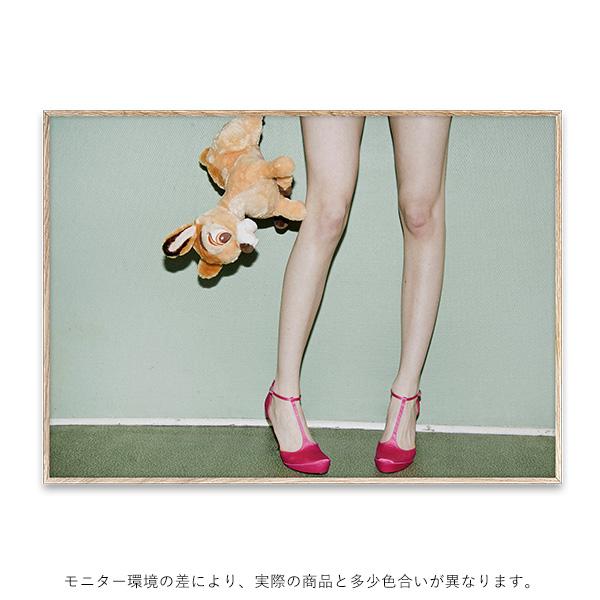 【受注発注】Paper Collective (ペーパーコレクティブ) ポスター 70×50cm Bambi & Heels【送料無料】