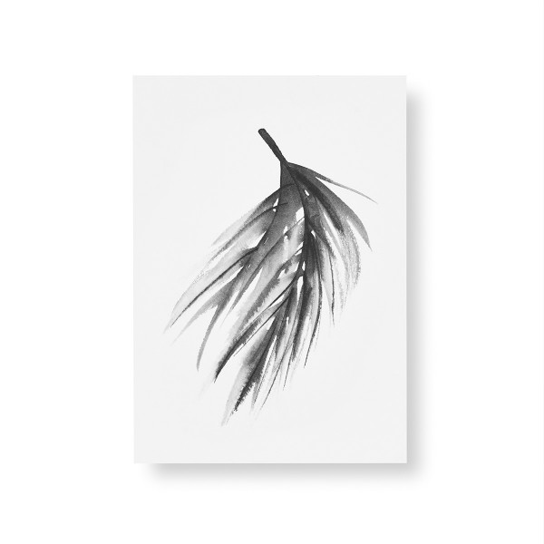 Teemu Jarvi (テーム・ヤルヴィ) ポスター A5 PINE BRANCH (松の枝) 北欧/インテリア【メール便】