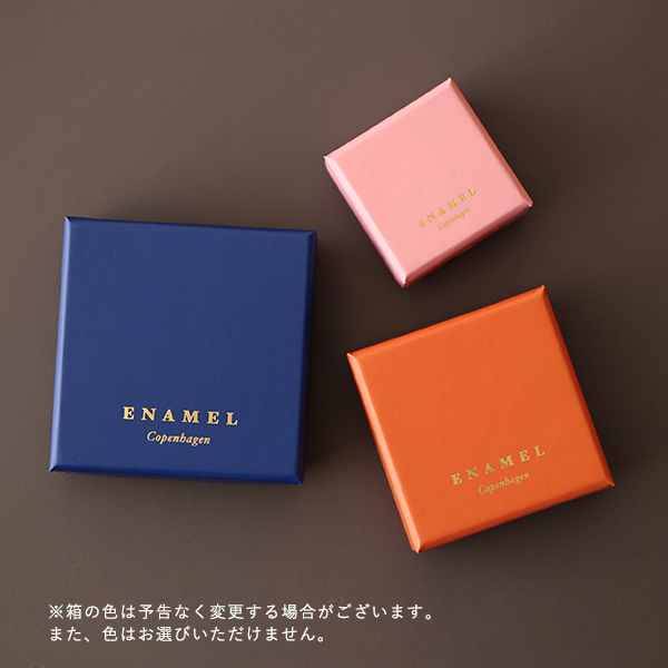 【50%OFF!】Enamel (エナメル) ピアス オダ ゴールド 【メール便】