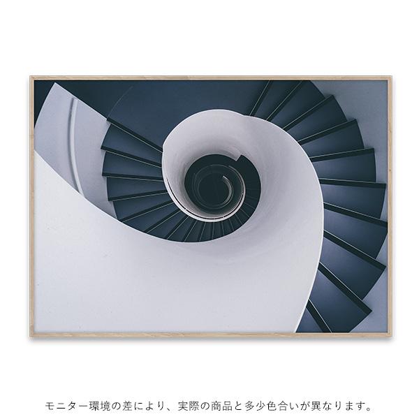 【受注発注】Paper Collective (ペーパーコレクティブ) ポスター 70×50cm KUA Stairways【送料無料】