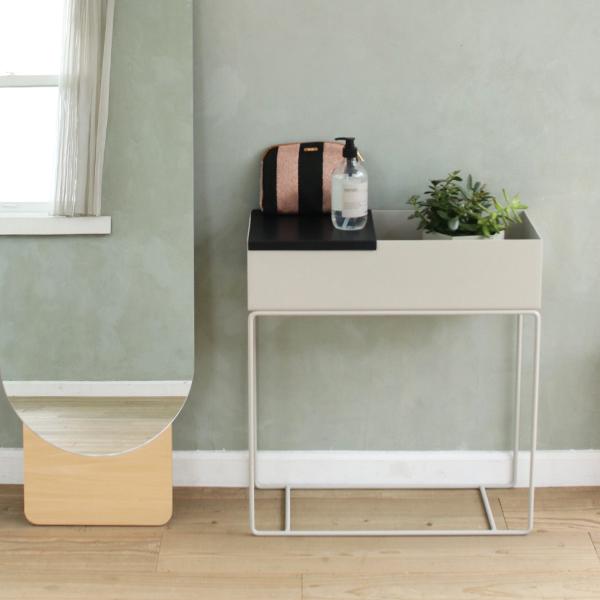 ferm LIVING (ファームリビング)  Tray for Plant Box (プラントボックス L / Two Tier専用トレイ) ブラックブラス  北欧/インテリア/日本正規代理店品 【送料無料】