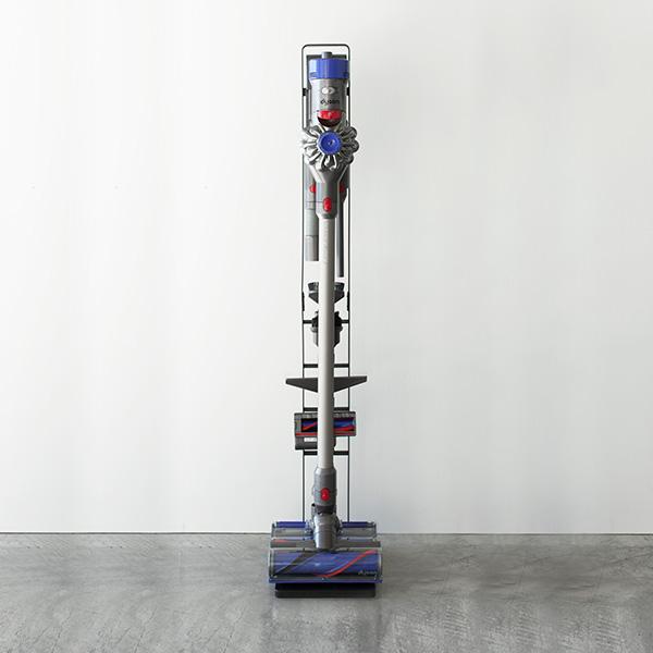 YAMAZAKI tower (タワー) Cordless Cleaner Stand  (コードレスクリーナースタンド) ホワイト/ブラック 収納/雑貨