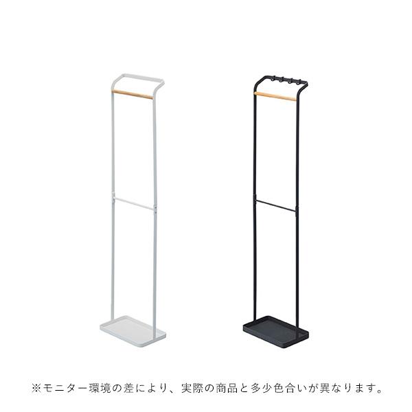 YAMAZAKI tower (タワー) Umbrella Hanger Stand (引っ掛けアンブレラスタンド) ホワイト/ブラック 収納/雑貨