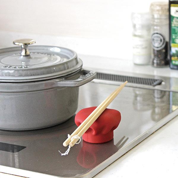 APYUI(アピュイ) キッチンシェフハット/鍋蓋つかみ レッド