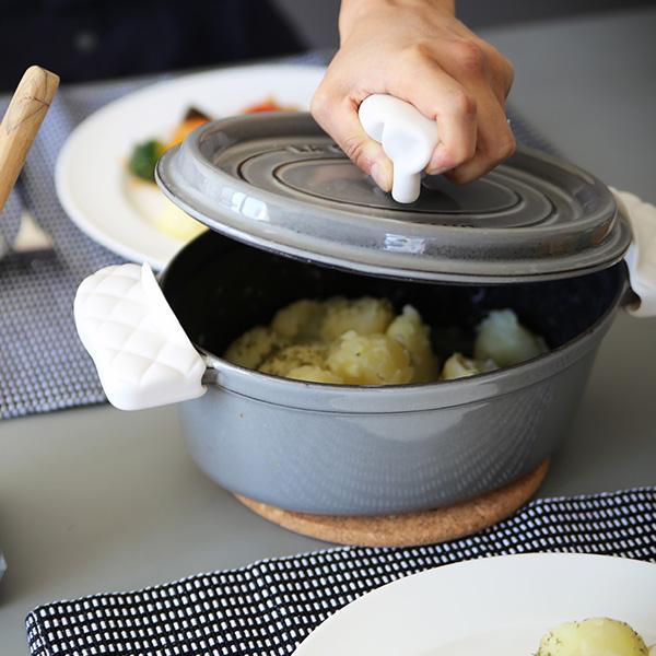 APYUI(アピュイ) キッチンシェフハット/鍋蓋つかみ ホワイト