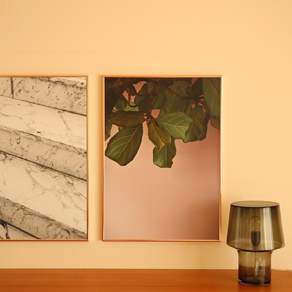 Paper Collective (ペーパーコレクティブ) ポスター 50×70cm Green leaves (グリーンリーブス)葉 北欧 インテリア【送料無料】