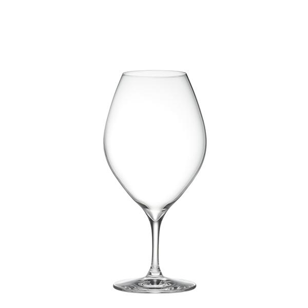 ピッコロ 10oz ワインレッド&ホワイトワイングラス(2個セット)ペアグラス