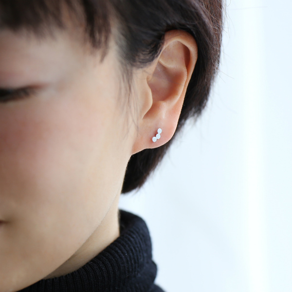 Pernille Corydon (ペニーレ・コリドン) ピアス ベルリン ゴールド/シルバー