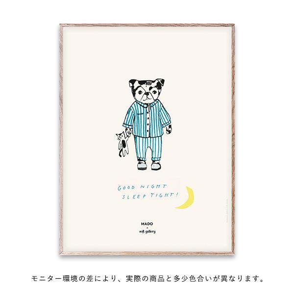 【受注発注】 MADO (マド) ポスター 30×40cm Soft Gallery Sleep Tight