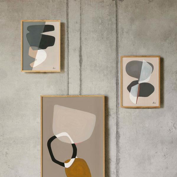 【受注発注】Paper Collective (ペーパーコレクティブ) ポスター 30×40cm Composition 01