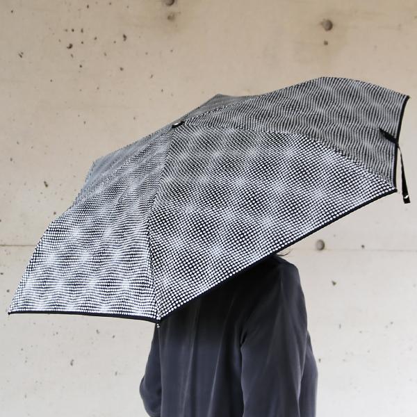 kura common (クラ コモン) Lisbet Friis(リズベットフリース) ミニドッツ 折りたたみアンブレラ ブラック 傘