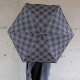 kura common (クラ コモン) Lisbet Friis(リズベットフリース) ミニフラワーパワー 折りたたみアンブレラ ブラック 傘