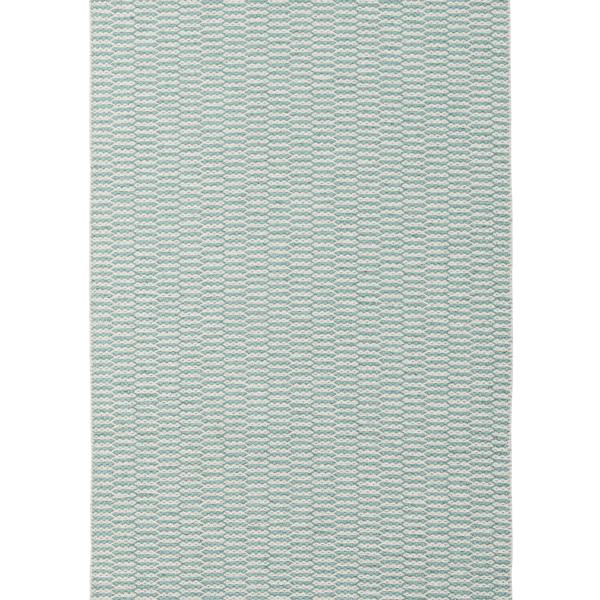 【送料無料】<br>BRITA SWEDEN (ブリタ スウェーデン) <br>PEMBA(ペンバ)ラグマット 70×100cm <br>アクア <br>北欧/プラスティックラグ/洗えるラグマット/インテリア/日本正規代理店品