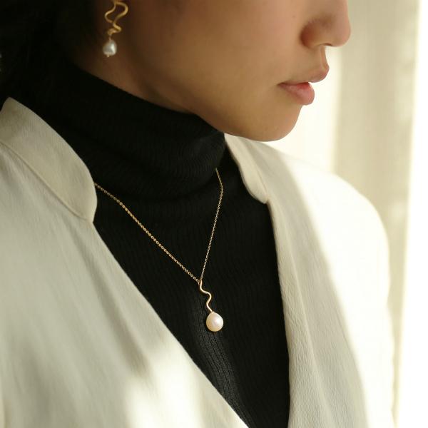 Pernille Corydon (ペニーレ・コリドン)  ネックレス ベイ パール ゴールド/シルバー【送料無料】