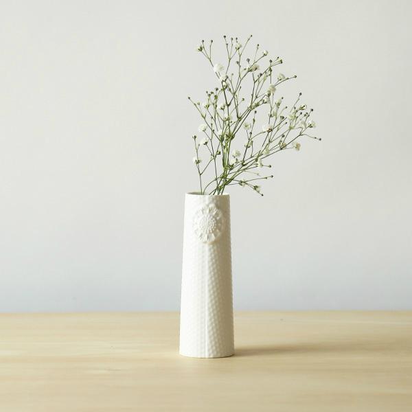 dottir (ドティエ) Pipanella (ピパネラ) フラワーベース/ドット S ホワイト 北欧/インテリア/花瓶/日本正規代理店品