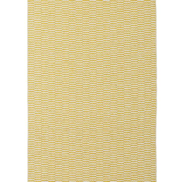 【送料無料】<br>BRITA SWEDEN (ブリタ スウェーデン) <br>PEMBA(ペンバ)ラグマット 70×100cm <br>サン イエロー <br>北欧/プラスティックラグ/洗えるラグマット/インテリア/日本正規代理店品
