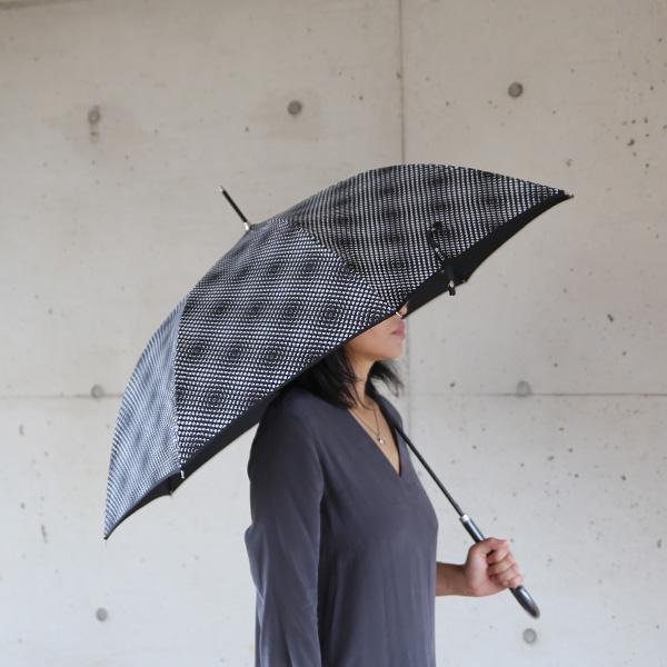 kura common (クラ コモン) Lisbet Friis(リズベットフリース) ミニフラワーパワー アンブレラ ブラック 傘