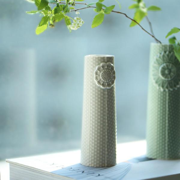 dottir (ドティエ) Pipanella (ピパネラ) フラワーベース/ドット S ライトグレー 北欧/インテリア/花瓶/日本正規代理店品