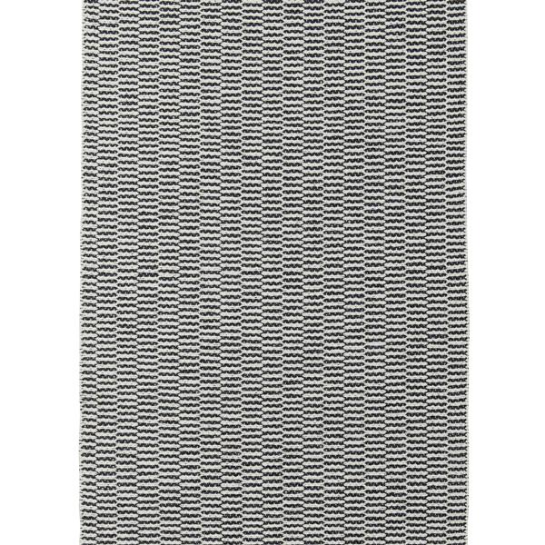 【送料無料】<br>BRITA SWEDEN (ブリタ スウェーデン) <br>PEMBA(ペンバ)ラグマット 70×100cm <br>ベルーガ ブラック <br>北欧/プラスティックラグ/洗えるラグマット/インテリア/日本正規代理店品