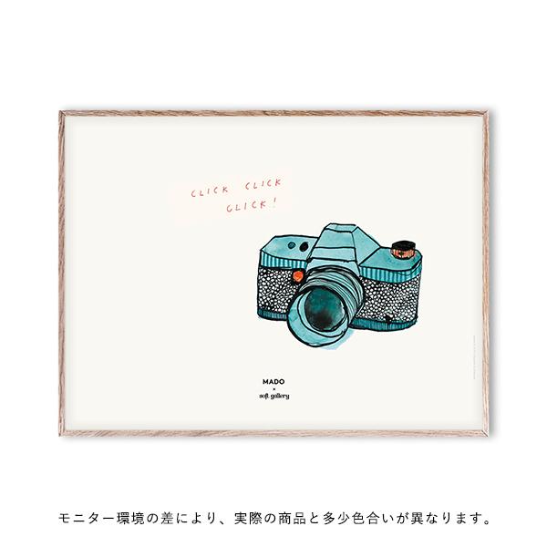 【受注発注】 MADO (マド) ポスター 40×30cm Soft Gallery Click Click