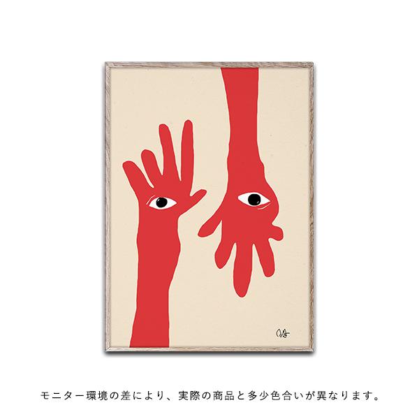 【受注発注】Paper Collective (ペーパーコレクティブ) ポスター 30×40cm Hamsa Hands