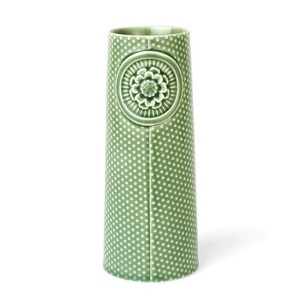 【40%OFF!】dottir (ドティエ) Pipanella (ピパネラ) フラワーベース/ドット L グリーン 北欧/インテリア/花瓶/日本正規代理店品