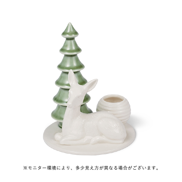 dottir (ドティエ) Winter Stories シカ/キャンドルホルダー 北欧/インテリア/クリスマス