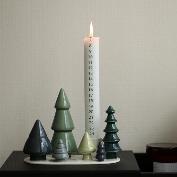 dottir (ドティエ) Winter Stories キャンドル(Forest専用)1本 北欧/インテリア/クリスマス