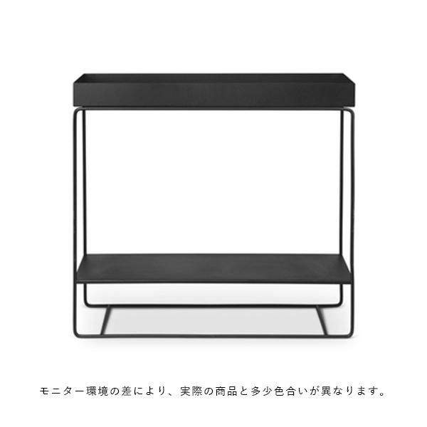【受注発注】ferm LIVING (ファームリビング)  Plant Box (プラントボックス) Two Tier  ブラック  北欧/インテリア/家具/日本正規代理店品【大型送料】