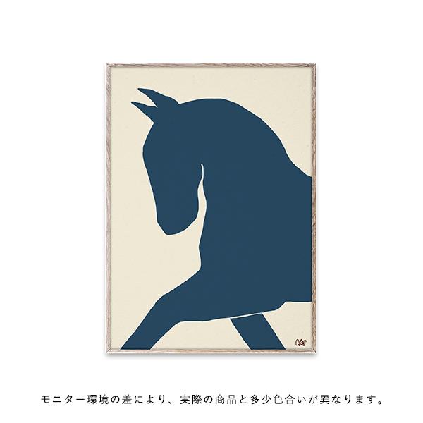 【受注発注】Paper Collective (ペーパーコレクティブ) ポスター 50×70cm Dressage