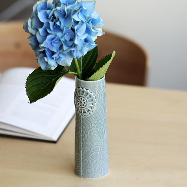 dottir (ドティエ) Pipanella (ピパネラ) フラワーベース/フラワー S ダークグレー 北欧/インテリア/花瓶/日本正規代理店品