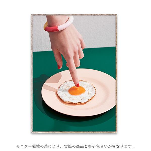 【受注発注】Paper Collective (ペーパーコレクティブ) ポスター 50×70cm Fried Egg【送料無料】