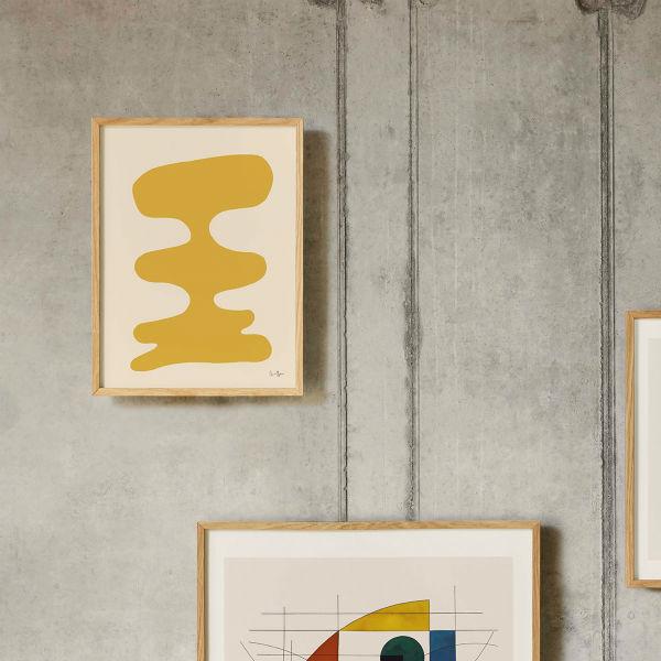 【受注発注】Paper Collective (ペーパーコレクティブ) ポスター 30×40cm Soft Yellow