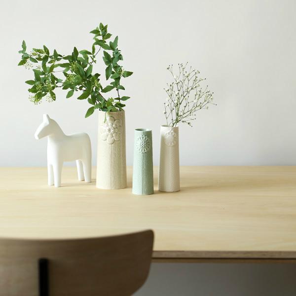 dottir (ドティエ) Pipanella (ピパネラ) フラワーベース/フラワー S セラドン 北欧/インテリア/花瓶/日本正規代理店品