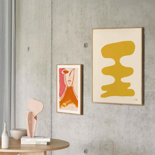 【受注発注】Paper Collective (ペーパーコレクティブ) ポスター 50×70cm Soft Yellow