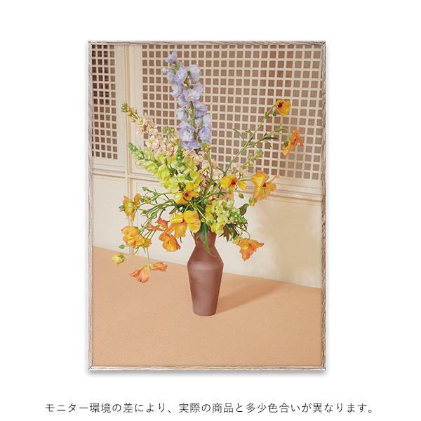 【受注発注】Paper Collective (ペーパーコレクティブ) ポスター 50×70cm Blomst 06 / Beige【送料無料】