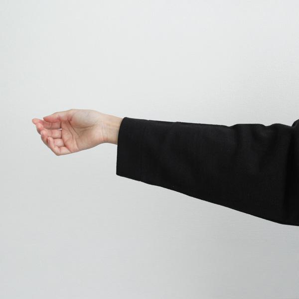 WESTWOOD OUTFITTERS (ウエストウッド アウトフィッターズ) ジップアップ S/M/L TRICKHOOD ブラック パーカー/羽織/ジップパーカー/無地/日本製【送料無料】